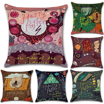 Magical Style Cotton Linen Cushion Cover фото