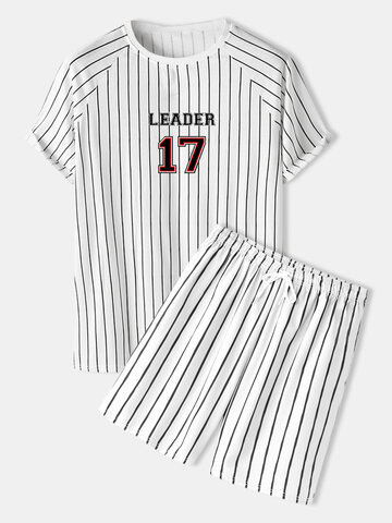 Letter Raglan Sleeve Outfits
