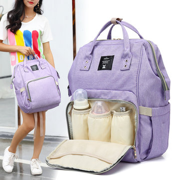 Multifunctional Waterproof Diaper Bag Backpack