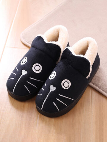Animals Pattern Slip On Home Flat Shoes