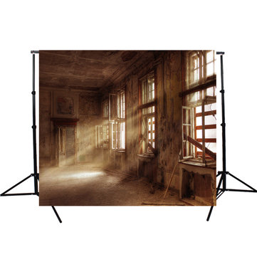 7X5FT Retro Ruins Vinyl Backdrop Foto Foto Prop Vintage Studio Background