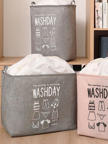 Clothing Quilt Storage Basket Household Cloth Art Clothes Bag Moving Wardrobe Finishing Super Large Capacity Finishing Bag