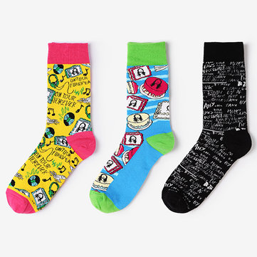 Unisex Fashion Cotton Breathable Long Tube Socken