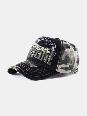 Mens Cotton Embroidery Baseball Cap