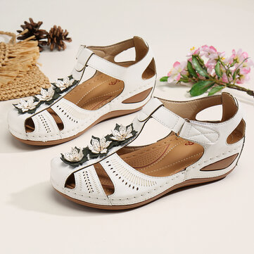 Hollow Comfy Casual Platform Sandals