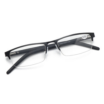 Lightweight Square Reading Glasses  HD View Magnifier