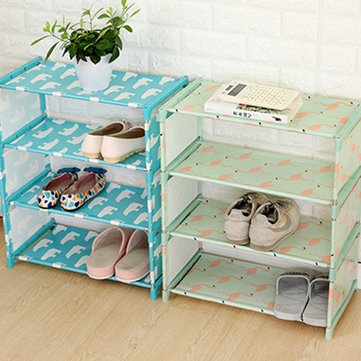 4 Layer Shoes Storage Cabinet от Newchic WW