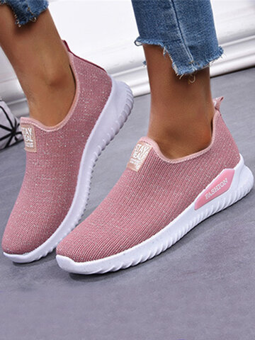 Running Breathable Mesh Flat Shoes