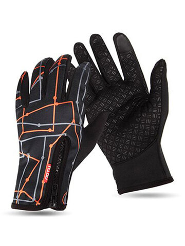 Ourdoor Windproof Fleece Cycling Ski Gloves