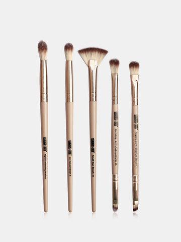 5 Pcs Beginners Makeup Tools