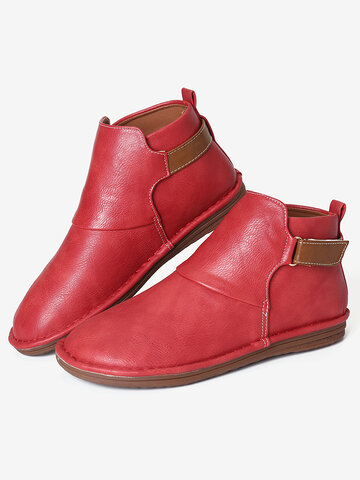 Splicing Slip Resistant Casual Short Boots