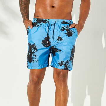 Tie Dye Beach Mini Shorts