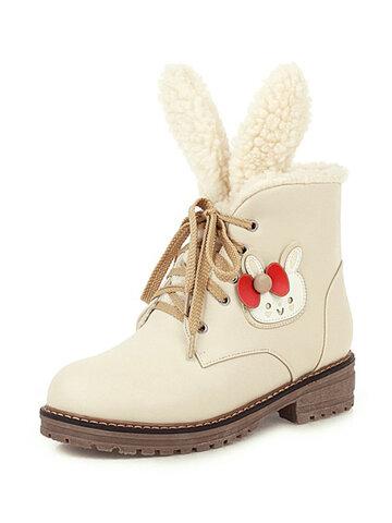 Casual Warm Cute Snow Short Boots