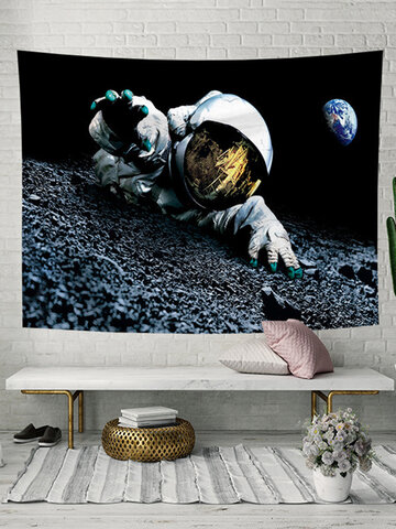 Astronaut Living Room Decoration Tapestry Wall Hanging Beach Cloth Home Curtain Tapestry Wall Tapestry