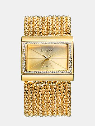 Square Quartz Bracelets Watch