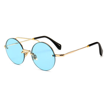 Metal Frame High Definition Sunglasses