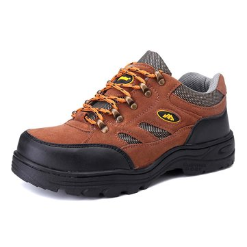 Men Steel Cap Safety Work Shoes