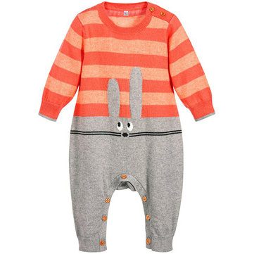 Cartoon Baby Jumpsuit For 0-24M