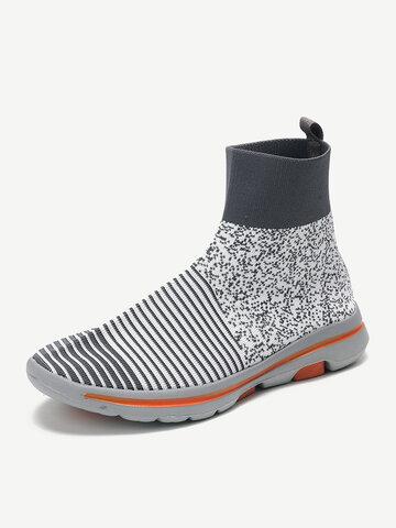 Soft Light Mesh High Top Sneakers