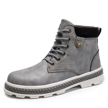 Men Outdoor Slip Resistant Casual Ankle Boots