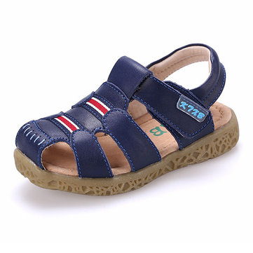 Boys Soft Leather Beach Sandals