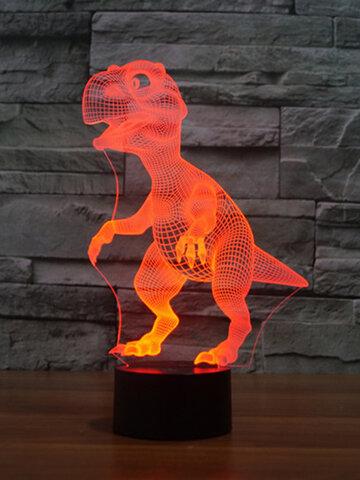 Dinosaur Colorful 3D LED Lights