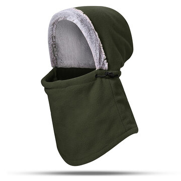 Warmer Cap With Neck Flap