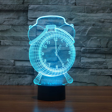 Lampada sveglia 3D Visual LED Night Light