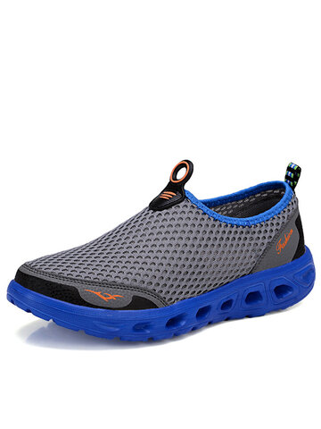 Large Size Men Honeycomb Casual Beach Shoes