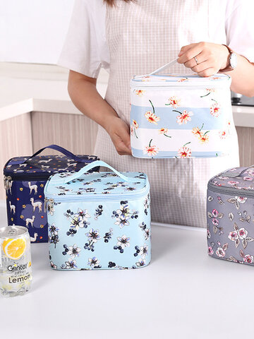 Children's Kids Adult Lunch Bags Insulated Cool Bag Picnic Bags School Lunchbox Printing Lunch Bags Special Purpose Bag