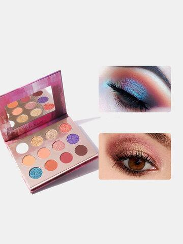 12 Colors Nude Eyeshadow Palette