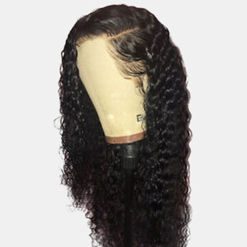 Front Lace Long Curly Wig
