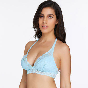 Reggiseno triangolo all'uncinetto con ferretto