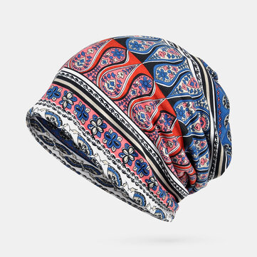 Breathable Printing Ethnic Beanie