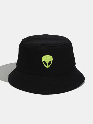 Women & Men Cartoon Alien Pattern Bucket Hat
