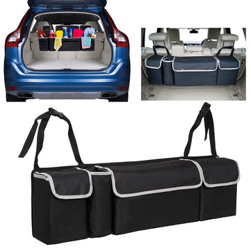 Car Back Seat Multi Pocket Storage Organizer