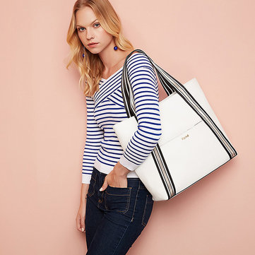 Kadell Oxford Tote Handbags Casual Shoulder Bags Simple Shopping Bags