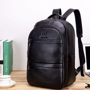 Travel Genuine Leather Backpack