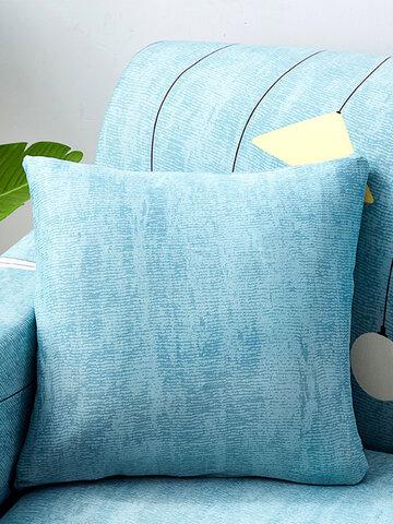 Modern Simple Geometrical Cotton Fabric Throw Pillowcases