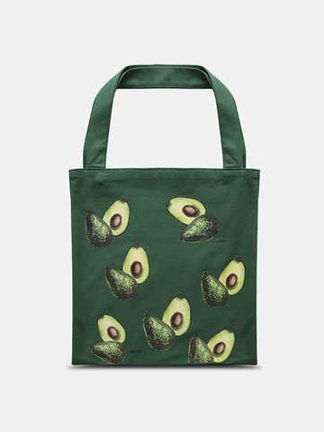 Obst Avocado Muster Tote