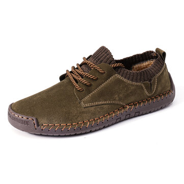 Menico Men Suede Non Slip Casual Shoes