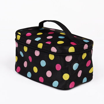 Travel Letter Handbag Make-up Bag Bolsa de lavagem Cosmetic Bag
