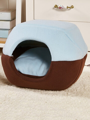 2 in 1 Pet Bed Washable Pet Bed Pet House Tent