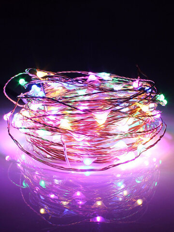 10M Solar Powered String Light Christmas