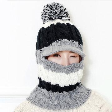 Women Knit Winter Hat