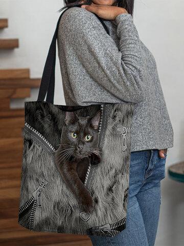 Borsa tote Lovely Cats
