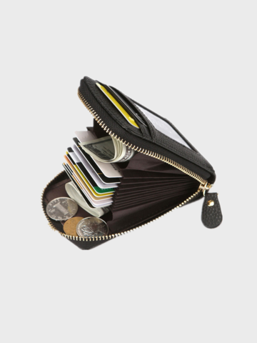 RFID Multi-card Slots Money Clip Coin Purse Wallet