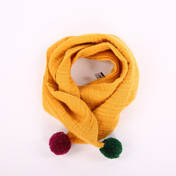 Kids Winter Cotton Warm Scarf Neck Warmer