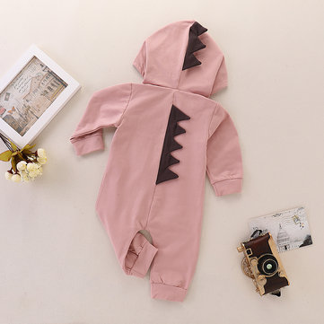 Dino Baby Bodysuit For 0-24M