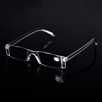 Portable Rimless Reading Glasses